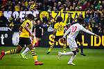 11.05.2019, Signal Iduna Park, Dortmund, GER, 1.FBL, Borussia Dortmund vs Fortuna Düsseldorf, DFL REGULATIONS PROHIBIT ANY USE OF PHOTOGRAPHS AS IMAGE SEQUENCES AND/OR QUASI-VIDEO<br /> <br /> im Bild | picture shows:<br /> Dodi Lukebakio (Fortuna #20) fordert den Ball, <br /> <br /> Foto © nordphoto / Rauch