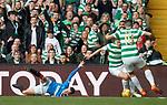 29.04.18 Celtic v Rangers: Andy Halliday and James Forrest