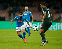 Lorenzo Insigne  during the Champions League Group  soccer match between SSC Napoli - Manchester City   at the Stadio San Paolo in Naples 01 nov 2017