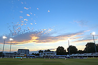 General view late in the game as the sun sets during Essex CCC vs Middlesex CCC, Specsavers County Championship Division 1 Cricket at The Cloudfm County Ground on 26th June 2017
