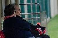 SÃO PAULO, SP, 07 DE OUTUBRO DE 2013 - TREINO SAO PAULO - O Presidente do São Paulo, Juvenal Juvencio é visto durante treino, no CT da Barra Funda, região oeste da capital, na tarde desta segunda feira, 07.  FOTO: ALEXANDRE MOREIRA / BRAZIL PHOTO PRESS