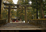 Ishidorii Stone Torii Gate Omotemon Front Gate Nikko Toshogu Shrine Nikko Japan