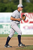 July 5th 2008:  Third baseman Michael Lyon of the Staten Island Yankees, Class-A affiliate of the NY Yankees, during a game at Falcon Park in Auburn, NY.  Photo by:  Mike Janes/Four Seam Images