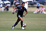 CARY, NC - APRIL 01: Courage's Rosana (BRA). The NWSL's North Carolina Courage played a preseason game against the Wake Forest Demon Deacons on April 1, 2017, at WakeMed Soccer Park Field 3 in Cary, NC. The Courage won the match 3-0.