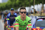 Cannondale Drapac rider at sign on in Dusseldorf before the start of Stage 2 of the 104th edition of the Tour de France 2017, running 203.5km from Dusseldorf, Germany to Liege, Belgium. 2nd July 2017.<br /> Picture: Eoin Clarke | Cyclefile<br /> <br /> <br /> All photos usage must carry mandatory copyright credit (&copy; Cyclefile | Eoin Clarke)