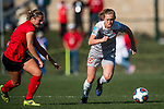 KANSAS CITY, MO - DECEMBER 02:  Lauren Wade (11) of Carson-Newman University dribbles the ball upfield during the Division II Women's Soccer Championship held at the Swope Soccer Village on December 2, 2017 in Kansas City, Missouri. (Photo by Doug Stroud/NCAA Photos/NCAA Photos via Getty Images)