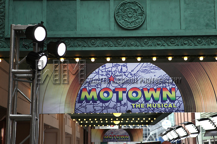 Atmosphere at the Broadway World Premiere Launch for 'Motown: The Musical' at the Nederlander in New York. Sept. 27, 2012