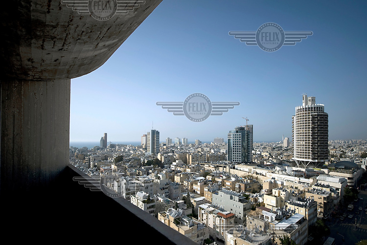 A view across Tel Aviv from the Jabotinsky House. Tel Aviv is known as the White City in reference to its collection of 4,000 Bauhaus style buildings, the largest number in any city in the world. In 2003 the Bauhaus neighbourhoods of Tel Aviv were placed on the UNESCO World Heritage List.