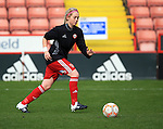 Sheffield United Ladies' Molly Cawthorn warms up prior to kick off during the FA Women's Cup First Round match at Bramall Lane Stadium, Sheffield. Picture date: December 4th, 2016. Pic Clint Hughes/Sportimage
