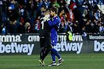 CD Leganes's Ivan Cuellar and Levante UD's Aitor Fernandez during La Liga match between CD Leganes and Levante UD at Butarque Stadium in Leganes, Spain. March 04, 2019. (ALTERPHOTOS/A. Perez Meca)