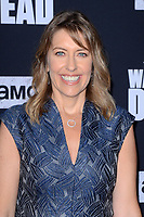 """LOS ANGELES - SEP 23:  Denise M. Huth at the """"The Walking Dead"""" Season 10 Premiere Event at the TCL Chinese Theater on September 23, 2019 in Los Angeles, CA"""