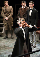 """Dress rehearsal for Occidental College Department of Theater production of William Shakespeare's """"King Richard II"""", adapted and directed by John Bouchard, Wednesday, April 14, 2010 in Keck Theater. The production starts Friday, April 16. (Photo by Marc Campos, Occidental College Photographer)"""