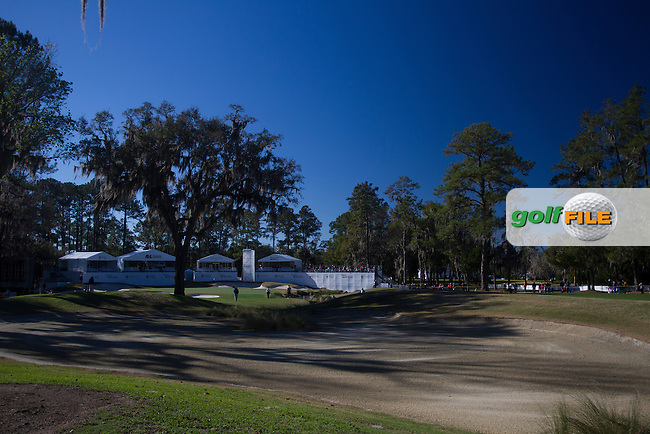 The 18th green during the Second day of the Second round of the LPGA Coates Golf Championship 2016 , from the Golden Ocala Golf and Equestrian Club, Ocala, Florida. 5/2/16<br /> Picture: Mark Davison | Golffile<br /> <br /> <br /> All photos usage must carry mandatory copyright credit (&copy; Golffile | Mark Davison)