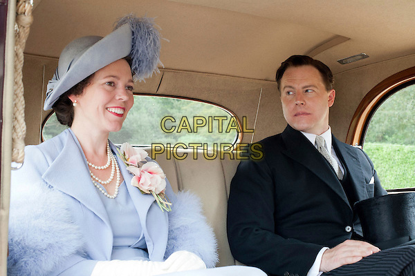 Olivia Colman, Samuel West.in Hyde Park on Hudson (2012)  .(Week-end Royal).*Filmstill - Editorial Use Only*.CAP/NFS.Supplied by Capital Pictures.