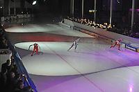 SCHAATSEN: LEEUWARDEN: 15-03-2016, Elfstedenhal, De Zilveren Bal, ©foto Martin de Jong