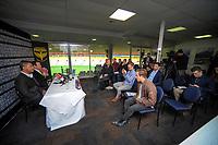 New Phoenix coach Mark Rudan. Wellington Phoenix new coach announcement at Westpac Stadium in Wellington, New Zealand on Thursday, 10 August 2017. Photo: Dave Lintott / lintottphoto.co.nz