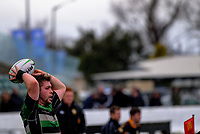 Action from the Manawatu senior 2 club rugby Houlihan Cup Final between Dannevirke and Old Boys Marist at Arena Manawatu Oval in Palmerston North, New Zealand on Saturday, 22 July 2017. Photo: Dave Lintott / lintottphoto.co.nz