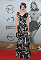 Emily Mortimer at the 2014 American Film Institute's Life Achievement Awards honoring Jane Fonda, at the Dolby Theatre, Hollywood.<br /> June 5, 2014  Los Angeles, CA<br /> Picture: Paul Smith / Featureflash