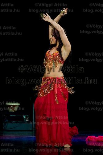 Fiesta Oriental Bellydance Gala organized by Sefirah, held in Urania National Movie Theatre. Budapest, Hungary, Saturday, 24. January 2009. ATTILA VOLGYI
