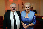 Pictured at the Kerry Branch of IHF Ball in the Muckross Park Hotel at the weekend were Donie O'Sullivan of Killarney Riding Stables and Anna May McHugh, Organiser of the National Ploughing Championships. The last time they were together ina a field was the the 1954 ploughing championships when they were held in Ballydowney, Killarney.<br /> Photo: Don MacMonagle<br /> <br /> Repro free photo
