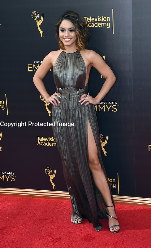 Vanessa Hudgens @ the 2016 Creative Arts Emmy Awards held @ the Microsoft theatre. September 11, 2016