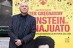 "British director Peter Greenaway present his new film ""Eisenstein en Guanajuato"" at Renoir Princesa Cinema in Madrid, Spain, November 06, 2015. <br /> (ALTERPHOTOS/BorjaB.Hojas)"