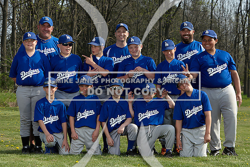 Oakfield-Alabama Youth Baseball & Softball photo day on May 9, 2015 in Oakfield, New York. (Copyright Mike Janes Photography)
