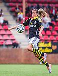 Solna 2014-08-16 Fotboll Damallsvenskan AIK - Kopparbergs/G&ouml;teborg FC :  <br /> AIK:s Madeleine Tegstr&ouml;m i aktion <br /> (Foto: Kenta J&ouml;nsson) Nyckelord:  AIK Gnaget Kopparbergs G&ouml;teborg Kopparbergs/G&ouml;teborg portr&auml;tt portrait