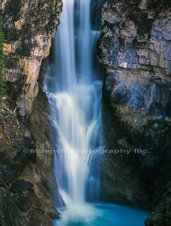 Falls of the Pool,Robson Provincial Park,Canada BC