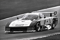 Bobby Rahal drives the Team Zakspeed USA Ford Mustang GTP during the 1983 IMSA race at Road America, near Elkhart Lake,Wisconsin.