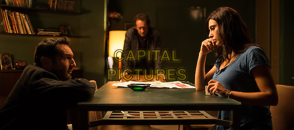 Gilles Lellouche, Vincent Lindon<br /> in Mea culpa (2014) <br /> *Filmstill - Editorial Use Only*<br /> CAP/NFS<br /> Image supplied by Capital Pictures
