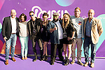 """The jury of the program with Dani Reus and the producers attends to the presentation of the new Movistar+ Talent Show, """"Acapela"""" for channel #0 in Madrid. May 26, 2016. (ALTERPHOTOS/Borja B.Hojas)"""