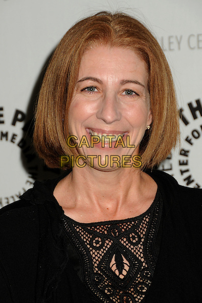"KELLY KULCHAK.""Psych"", A Twin Peaks Reunion Premiere Screening of a ""Twin Peaks"" Inspired Episode of USA Network's ""Psych"" held at the Paley Center, Beverly Hills, California, USA, .29th November 2010..portrait headshot smiling black crochet .CAP/ADM/BP.©Byron Purvis/AdMedia/Capital Pictures."
