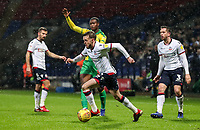 Bolton Wanderers' Craig Noone breaks<br /> <br /> Photographer Andrew Kearns/CameraSport<br /> <br /> The EFL Sky Bet Championship - Bolton Wanderers v West Bromwich Albion - Monday 21st January 2019 - University of Bolton Stadium - Bolton<br /> <br /> World Copyright © 2019 CameraSport. All rights reserved. 43 Linden Ave. Countesthorpe. Leicester. England. LE8 5PG - Tel: +44 (0) 116 277 4147 - admin@camerasport.com - www.camerasport.com