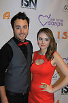 """Jake Coco and Days of Our Lives Jillian Claire """"Abigail Devereaux"""" is nominated as best actress - drama in Miss Behave and is a presenter at We Love Soaps and The Indie Series Network present the 4th Annual Indie Soap Awards - ISAs on February 19, 2013 from New World Stages, New York City, New York - (Photo by Sue Coflin/Max Photos)"""
