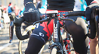 111th Paris-Roubaix 2013..double brakes.
