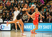 10th September 2017, PG Arena, Napier, New Zealand; Taini Jamison Netball Trophy, New Zealand versus England;  New Zealands Kayla Cullen