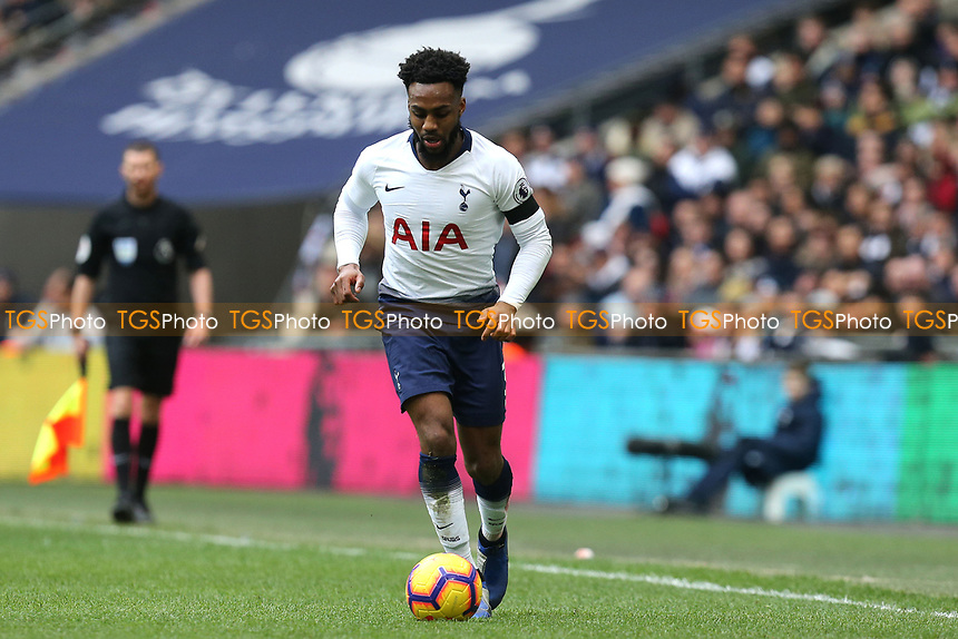 Danny Rose of Tottenham Hotspur during Tottenham Hotspur vs Leicester City, Premier League Football at Wembley Stadium on 10th February 2019