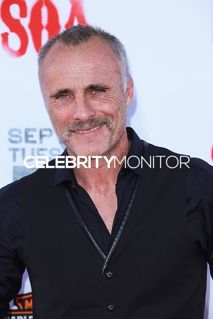HOLLYWOOD, LOS ANGELES, CA, USA - SEPTEMBER 06: Timothy V Murphy arrives at the Los Angeles Premiere Of FX's 'Sons Of Anarchy' Season 7 held at the TCL Chinese Theatre on September 6, 2014 in Hollywood, Los Angeles, California, United States. (Photo by David Acosta/Celebrity Monitor)