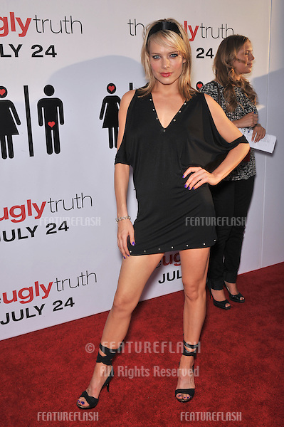 "Nina Bergman at the premiere of ""The Ugly Truth"" at the Cinerama Dome, Hollywood..July 16, 2009  Los Angeles, CA.Picture: Paul Smith / Featureflash"