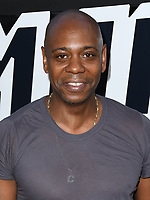 08 August 2018 - Beverly Hills, California - Dave Chappelle. Premiere Of Focus Features' &quot;BlacKkKlansman&quot; held at Samuel Goldwyn Theater. <br /> CAP/ADM/BT<br /> &copy;BT/ADM/Capital Pictures