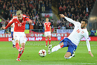 12.11.2016 - Cardiff City Stadium - World Cup Group D Qualifier Wales v Serbia. <br /> <br /> <br /> Jeff Thomas Photography -  www.jaypics.photoshelter.com - <br /> e-mail swansea1001@hotmail.co.uk -<br /> Mob: 07837 386244 -