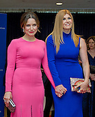 Actresses Sophia Bush, left, and Connie Britton, right, arrive for the 2016 White House Correspondents Association Annual Dinner at the Washington Hilton Hotel on Saturday, April 30, 2016.<br /> Credit: Ron Sachs / CNP<br /> (RESTRICTION: NO New York or New Jersey Newspapers or newspapers within a 75 mile radius of New York City)