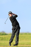Cormac Shavin (Ardglass) on the 12th tee during Round 3 of The Irish Amateur Open Championship in The Royal Dublin Golf Club on Saturday 10th May 2014.<br /> Picture:  Thos Caffrey / www.golffile.ie