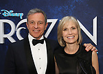 Bob Iger and Willow Bay attends the Broadway Opening Night After Party for 'Frozen' at Terminal 5 on March 22, 2018 in New York City.