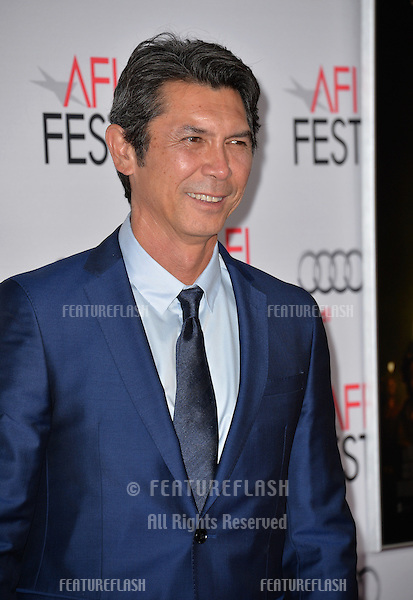 Actor Lou Diamond Phillips at the premiere of his movie &quot;The 33&quot;, part of the AFI FEST 2015, at the TCL Chinese Theatre, Hollywood. <br /> November 9, 2015  Los Angeles, CA<br /> Picture: Paul Smith / Featureflash