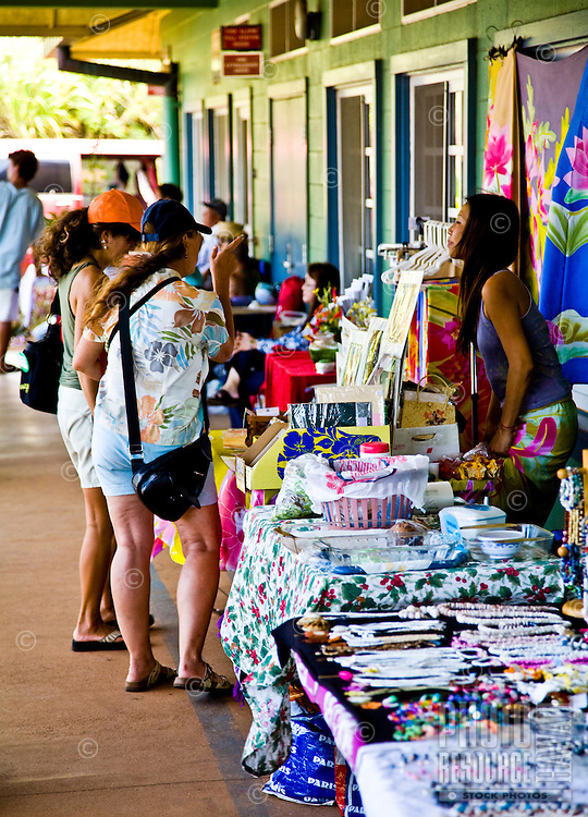 Farmers market on the North Shore of Oahu, Hawaii