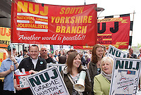 South Yorkshire Newspapers indefinite strike Aug 2011