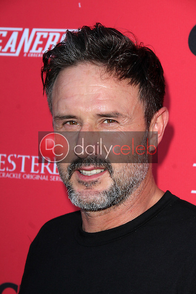 David Arquette<br /> at the Crackle Summer Premieres of 'Sequestered' and 'Cleaners' 1 OAK L.A, West Hollywood, CA 08-14-14<br /> David Edwards/Dailyceleb.com 818-249-4998