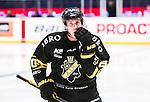 Stockholm 2015-01-04 Ishockey Hockeyallsvenskan AIK - Vita H&auml;sten :  <br /> AIK:s Conny Str&ouml;mberg under matchen mellan AIK och Vita H&auml;sten <br /> (Foto: Kenta J&ouml;nsson) Nyckelord:  AIK Gnaget Hockeyallsvenskan Allsvenskan Hovet Johanneshov Isstadion Vita H&auml;sten portr&auml;tt portrait